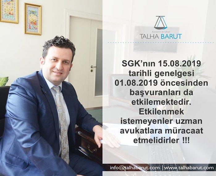 Avukat Talha Barut